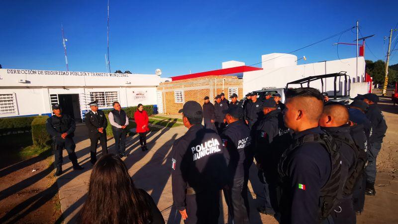 Carlos Solano Báez nuevo Director de Seguridad Pública de Tetla
