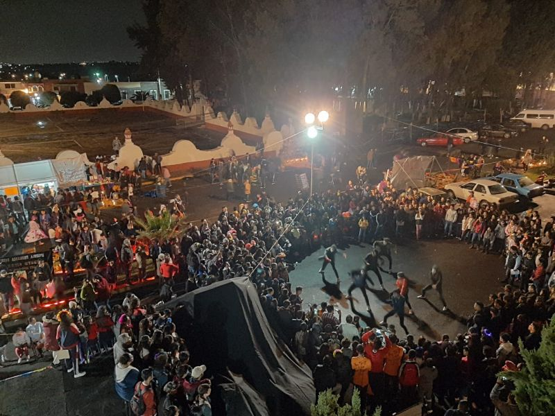 EXITOSO, EL FESTIVAL MIQUIZTLI EN TETLA QUE COADYUVA A PRESERVAR TRADICIONES ANCESTRALES