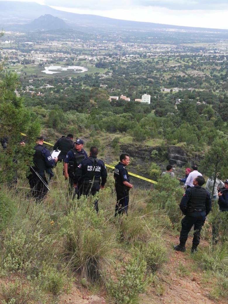 Atiende Policía de Tetla reporte de una persona sin vida.