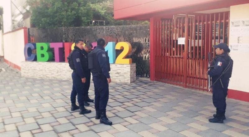 Refuerza alcalde de Tetla estrategia de seguridad por COVID -19
