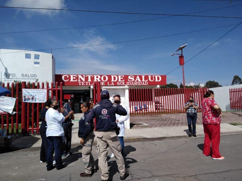 Saldo blanco en Tetla por Sismo registrado este martes.