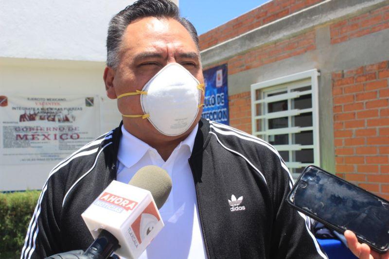 Pide alcalde de Tetla no bajar la guardia ante el cambio de semaforización sanitaria.