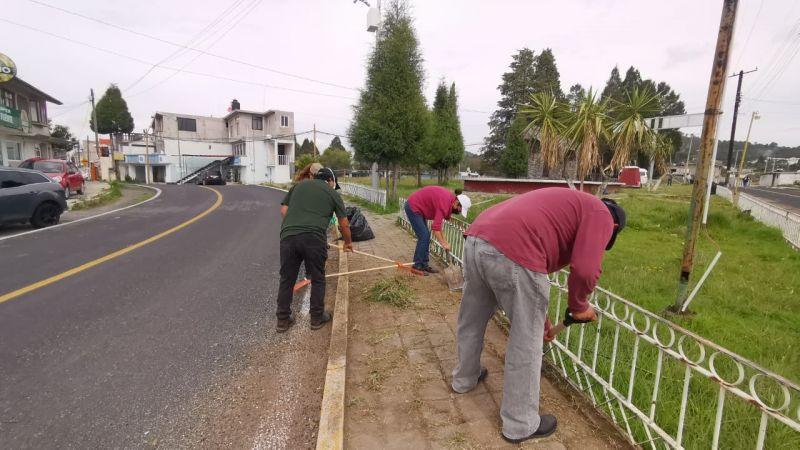 Tetla invierte 2,5 millones en empleo para sus habitantes.
