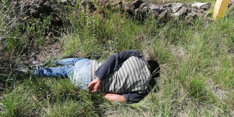 Frustra Policía Municipal de Tetla toma clandestina para el robo de combustible.